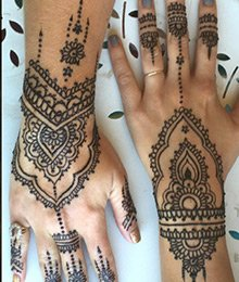 Henna Tattoo Party