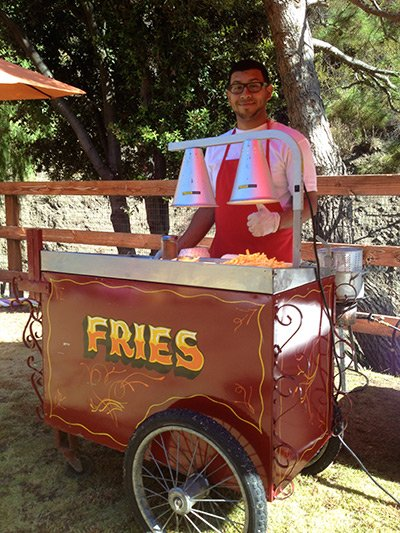 Food Carts for Kid Parties