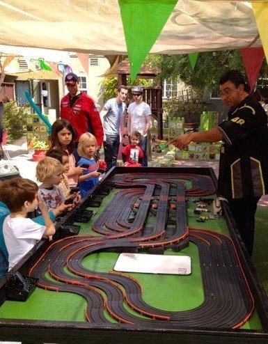 Race track kids party