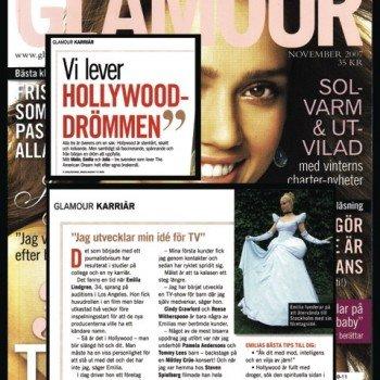 Glamour magazine cover
