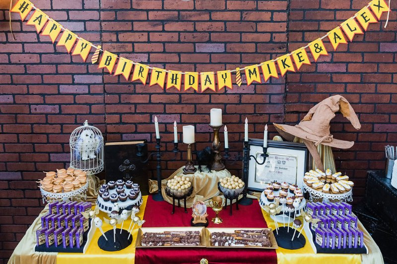 Harry Potter Dessert Table Giggle Factory La