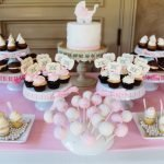 """It's A Girl"" Dessert Table"