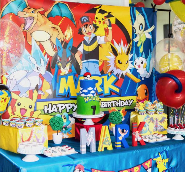 Mark's 7th Pokemon Birthday Party