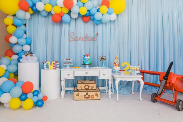 Santiel's Airplane Party
